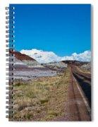 Painted Desert Road #3 Spiral Notebook