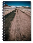Painted Desert Road #4 Spiral Notebook