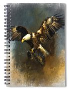 Painted Eagle Spiral Notebook