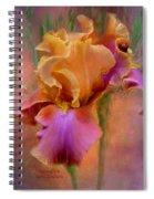 Painted Goddess - Iris Spiral Notebook