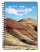 Painted Hills Colors Spiral Notebook