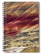 Painted Hills Contour Spiral Notebook