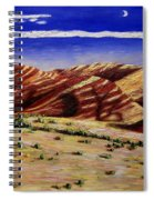 Painted Hills Spiral Notebook