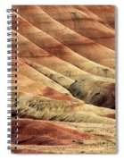 Painted Hills Textures Spiral Notebook