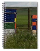Painted Hives Spiral Notebook