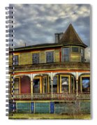 Painted House Sparta Georgia Spiral Notebook