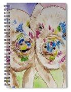Painted Ladies Spiral Notebook