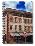 Painted Lady And Sons Spiral Notebook