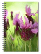 Painted Lavender By Kaye Menner Spiral Notebook