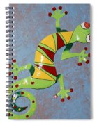 Painted Liz Spiral Notebook