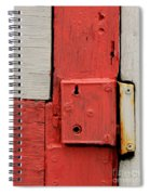 Painted Lock Spiral Notebook