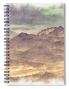 Mountainous Landscape Spiral Notebook