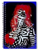 Painted Penny Spiral Notebook