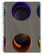 Painted Pigeon Holes Spiral Notebook