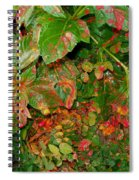 Painted Plants Spiral Notebook