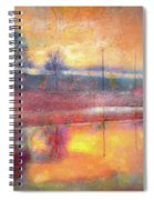 Painted Reflections Spiral Notebook