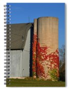 Painted Silo Spiral Notebook