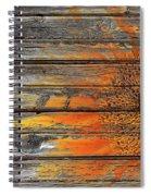 Painted Sunflower Spiral Notebook