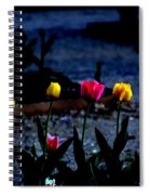 Painted Tulips Spiral Notebook