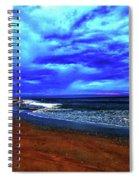 Painterly Beach Scene Spiral Notebook