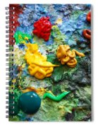 Painters Palette Spiral Notebook
