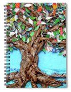 Painters Palette Of Tree Colors Spiral Notebook