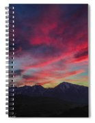 Painters Sky Spiral Notebook