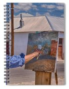 Painting Barrio Viejo Spiral Notebook