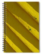 Painting It Yellow Spiral Notebook