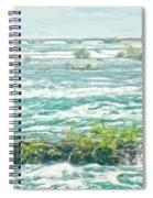 Painting Of Niagara Falls Spiral Notebook