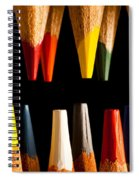 Painting Pencils Spiral Notebook