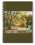 Painting The Fall Colors Spiral Notebook