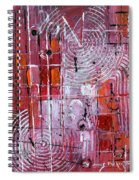 Painting The Town Red Spiral Notebook