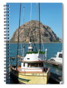 Painting The Trudy S Morro Bay Spiral Notebook
