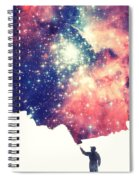 Painting The Universe Awsome Space Art Design Spiral Notebook