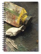 Painting Tub Spiral Notebook