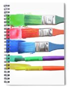 Paints And Brushes  Spiral Notebook