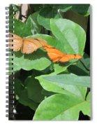 Pair Of Butterflies Spiral Notebook