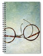 Pair Of Glasses Spiral Notebook