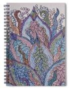 Paisley Fan Spiral Notebook