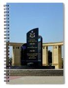 Pakistan Air Force Martyrs Monument Honoring Dead Pakistani Airmen At Paf Museum Karachi Pakistan Spiral Notebook