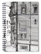 Palace Hotel Oxford Street Manchester Spiral Notebook