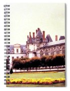 Palace Of Fontainebleau 1955 Spiral Notebook