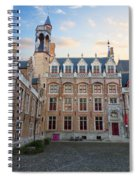Palace Of Gruuthuse In Brugge Spiral Notebook