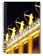 Palacio De Congresos Spiral Notebook