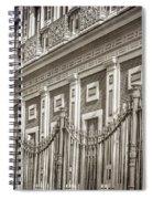 Palacio De San Telmo Facade Spiral Notebook