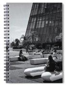 Palais Des Festivals Et Des Congres Spiral Notebook