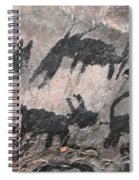 Palatki Pictoglyph Spiral Notebook