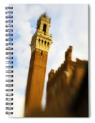 Palazzo Pubblico Tower Siena Italy Spiral Notebook