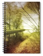 Pale Reflections Of Life Spiral Notebook